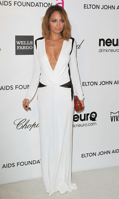 Nicole Richie in Oscar party dress