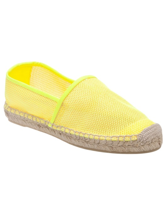 Stella Mccartney neon espardrille