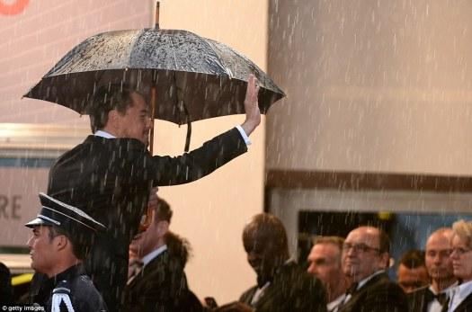 Cannes rain