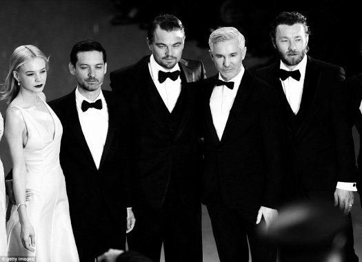 Gatsby cast_Cannes