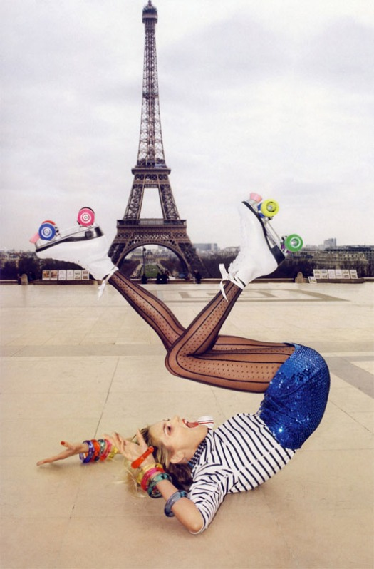 Paris roller skates